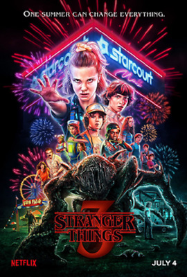 Netflix Originals Stranger Things Season 3 DVD Offline Service 2019