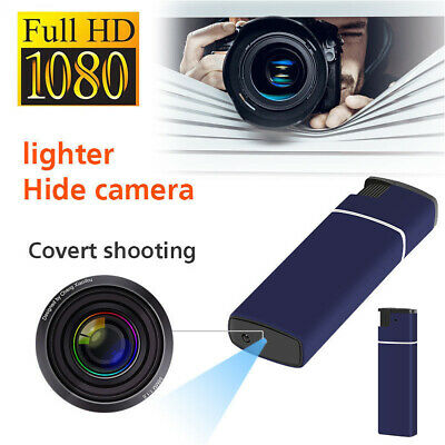 Fosforera  con Camara Espia BLUE Mini DV Lighter Hidden Spy Cam Recorder camera