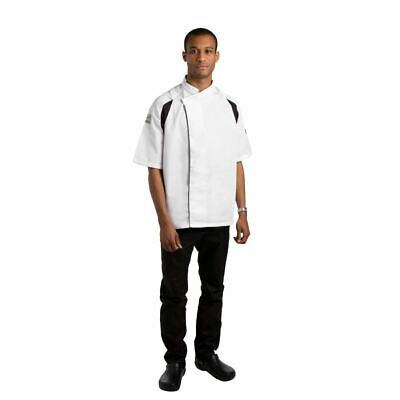 Le Chef Unisex Raglan Sleeve Tunic Short Top Sleeve Resturant Clothing  XXL