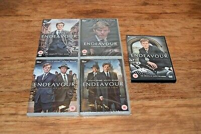 ENDEAVOUR DVD COMPLETE INDIVIDUAL SERIES 1 2 3 4 First Second Third Fourth etc