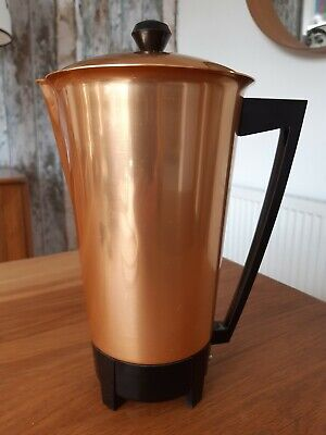 Superb Mid Century AEG Cafetera Columbiana Modernist Coffee Maker - Unused