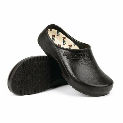 Birkenstock Super Birki Chefs Clog in Black - Waterproof - 38 - 4/5 UK
