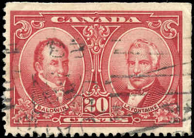 Used Canada 1927 20c VF Scott #148 Historical Issue Stamp