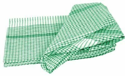Wonderdry Tea Towels in Green - 95% Cotton - 763 x 508 mm - 10 pc