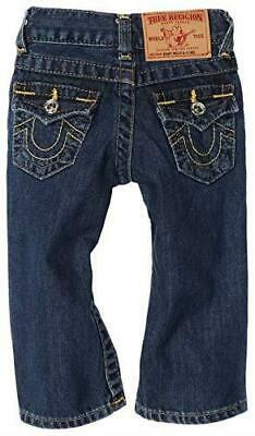 EUC True Religion Baby Billy Toddler Flap Pocket Bootcut Jeans Boys 12-18 Months