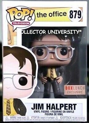 Funko Pop Jim Halpert Boxlunch Exclusive Vinyl Figure The Office New Pre-Order
