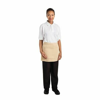 Whites Chefs Apparel Bistro Apron Khaki - 700 x 430mm
