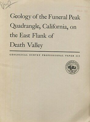 Greenwater motherlode still there? Death Valley, Calif, RARE report, BIG MAPS VG