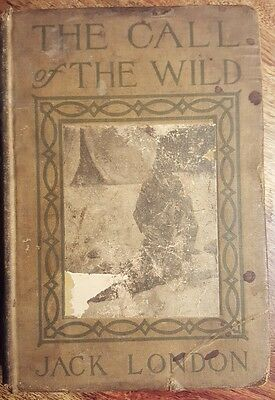 Antique Jack London- The Call Of The Wild 1910 norwood press