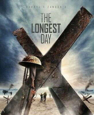 The Longest Day - Limited Edition Steelbook 2 disc version [Blu-ray] [1962]