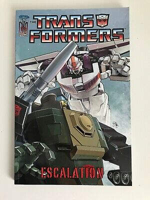 The Transformers - Escalation | Paperback TPB Graphic Novel | IDW Publishing