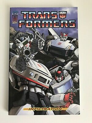 The Transformers - Infiltration Paperback TPB Graphic Novel IDW Publishing 2006
