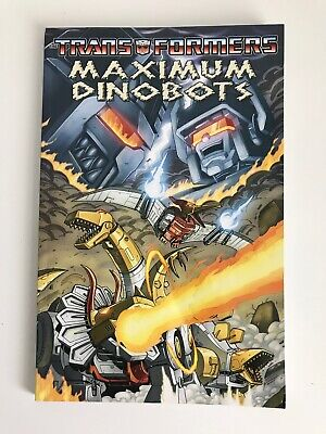 The Transformers - Maximum Dinobots | Paperback TPB Graphic Novel IDW Publishing