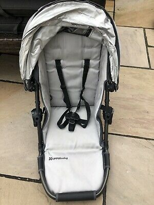 Uppababy Vista 2010-2014 Toddler Seat Unit, Hood & Harness Silver