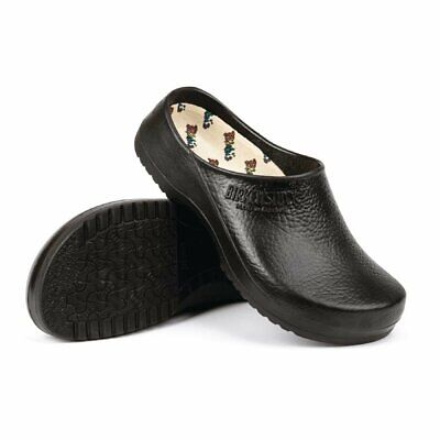 Birkenstock Unisex Super Birki Chefs Clog in Black - Waterproof - 40 - 6/7 UK