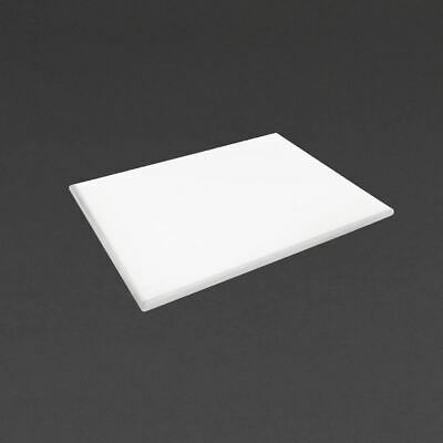 Hygiplas Extra Large Chopping Board in White - Polyethylene - 25 x 600 x 450 mm