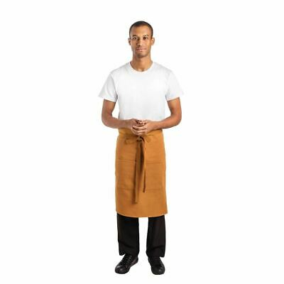 Whites Chefs Apparel Bistro Apron Tan - 1000 x 700mm