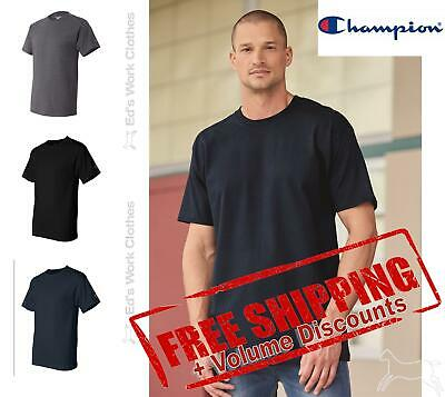 Champion Mens Blank Short Sleeve T-Shirt T425 up to 3XL
