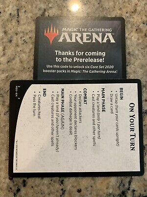 MTG Arena Core Set 2020 Pre-Release CODE ONLY for 6 packs of M20