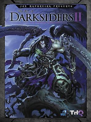 The Art of Darksiders II by THQ  2013) Rare Paperback ISBN 9781926778532