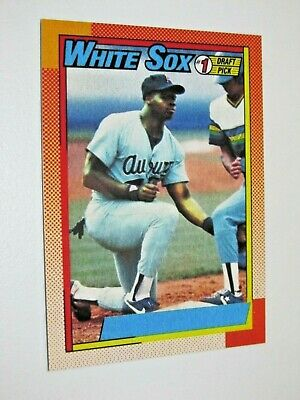 Frank Thomas 1990 #414 Rookie Card No Name On Front NNOF