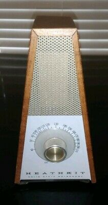 Vintage Heathkit Solid State Metronome Beats Per Minute Tempo TD-17 Series 01444