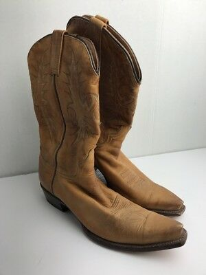 1602eb6261b STETSON BOOTS LADIES Brown Leather 15in Adeline Burnished Fashion ...