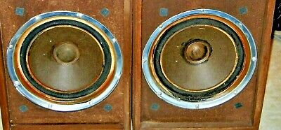 KLH MODEL 20 woofers 10-inch both sound good with square magnets fits most KLH