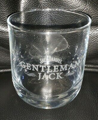 Rare Collectable Jack Daniels Gentleman Jack Whiskey Glass Great Used Condition