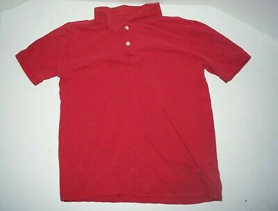 Old Navy Boys Polo Shirt Xl 14-16  Red