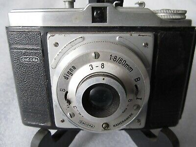 Vintage DACORA DIGNA 1960's 120 film Camera Extended Lens - made in Germany