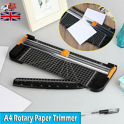 Cutter Trimmer A4 Photo Rotary Paper Guillotines Card Ruler Home Office Arts