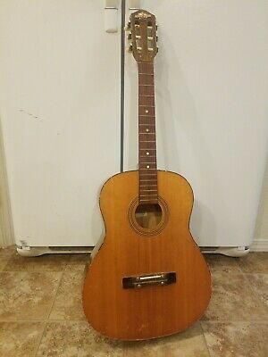 Vintage Acoustic Guitar  Model G115 Checkmate