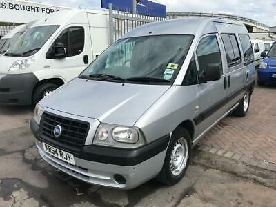 54 Reg Fiat Scudo Mobility Vehicle Fully Equipped Disability Vehicle Low Miles