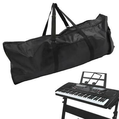 Portable 61-Key Keyboard Gig Bag Electric Piano Padded Carry Case Oxford Cloth