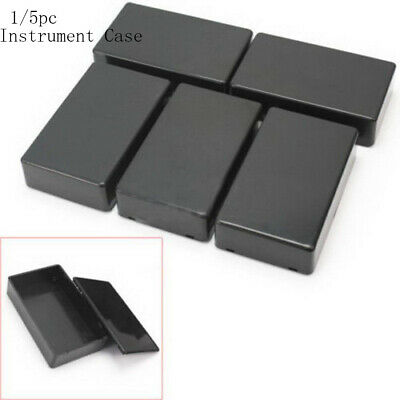 1/5pcs 100x60x25mmABS Plastic Electronic Project Box Enclosure Instrument Cas