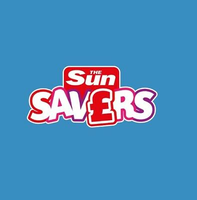 Sun Savers Code Tuesday 9th JULY 2019 Holidays £9.50 or Warwick Castle Tickets