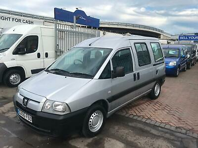 55 Reg Peugeot Expert Fully Equipped Mobilty Disabilty Vehicle Ready To Go