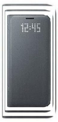 """Samsung EF-NG930PBEG """"LED View"""" Book Cover for Galaxy S7 - Black"""