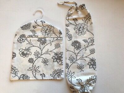 Peg Bag And Carrier Bag Holder Handmade With Ikea Anneli Cotton Fabric
