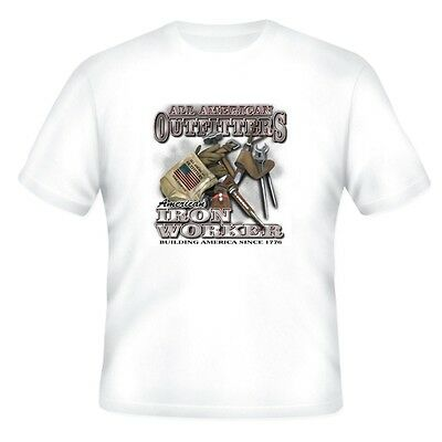 Occupation T-shirt All American Outfitters Iron Worker Building America