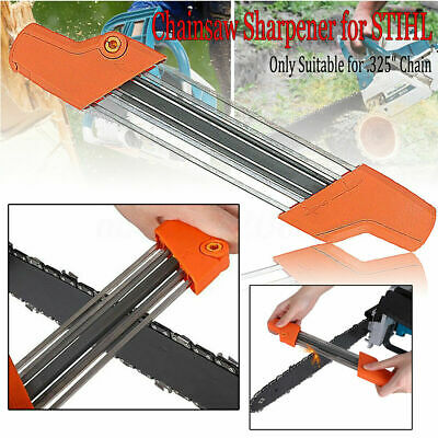 """2 in 1 Easy File Chainsaw Chain Sharpener .325"""" Fast Chain Saw Teeth Sharpening"""