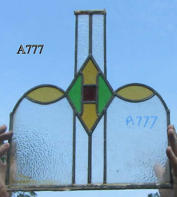 A777    Stained Glass Ca 1930s