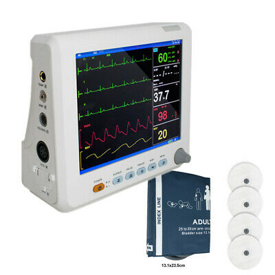 6-Parameters Hospital Vital Signs Patient Monitor Cardicac Monitoring Treatment