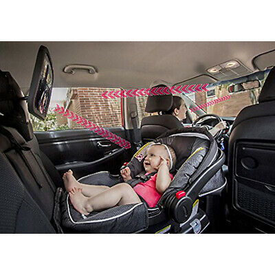 Baby Rear Facing Mirror Safety Car Back Seat View 360° Adjustable Infant Mirror