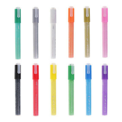 Permanent Acrylic Paint Markers Pens for Glass, Metal,Wood,Ceramic,Fabric