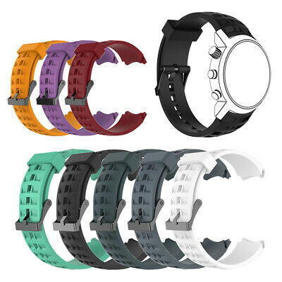 Silicone Fitness Replacement Wrist Band Strap Fit for Suunto Elementum Terra