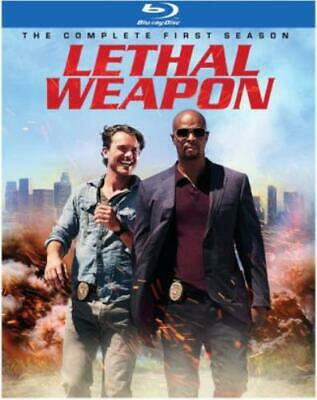 LETHAL WEAPON: THE COMPLETE FIRST SEASON (Region A BluRay,US Import,sealed.)