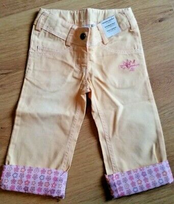Lego Duplo Wear Girls Turn Up Trousers Cargo Bottoms Age 3 Peach Pink Princess