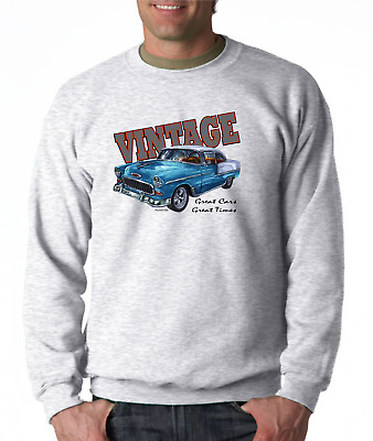 Gildan Long Sleeve T-shirt Vintage Classic Antique Car Great Cars Times